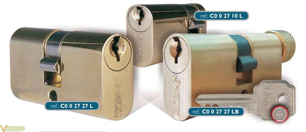 Cilindro 27x27mm c002727l lat-0