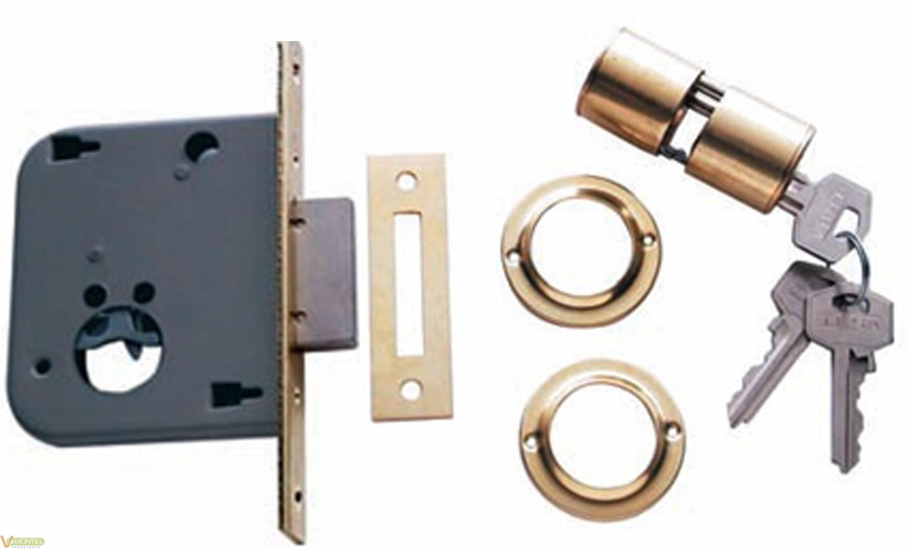 Cerradura c/cu 20x40mm 200140h-0
