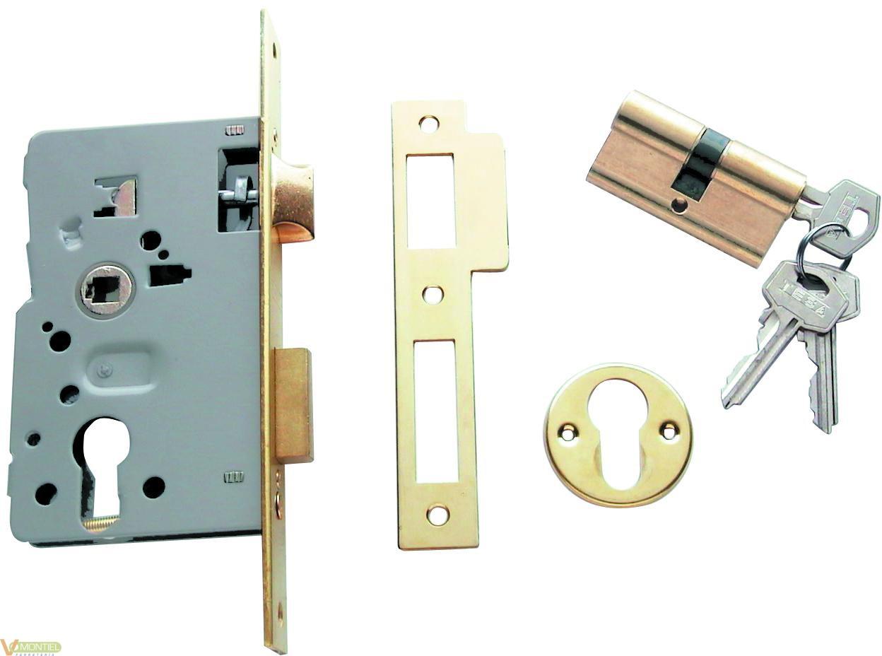 Cerradura c/cu 25x60mm 201460h-0