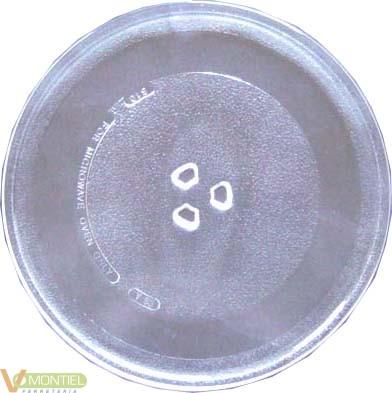 Plato microondas 255mm tipo da-0