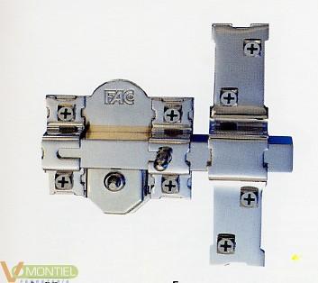 Cerrojo sobr. 70mm 301-r niq-0
