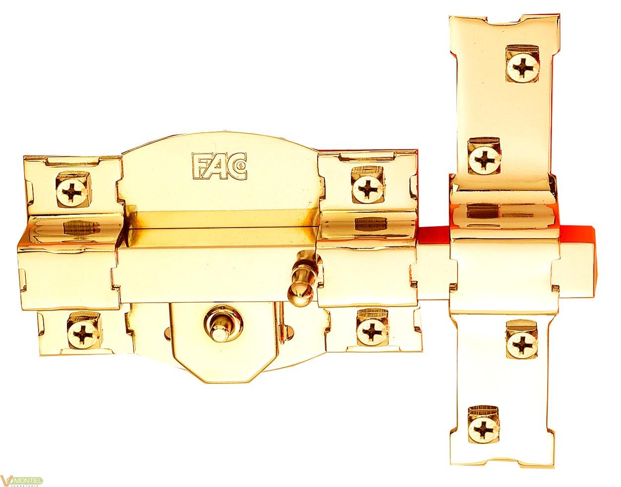 Cerrojo sobr. 120mm 301-r dor-0