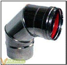 Codo t/estufa 90§ 080 cm inox-0