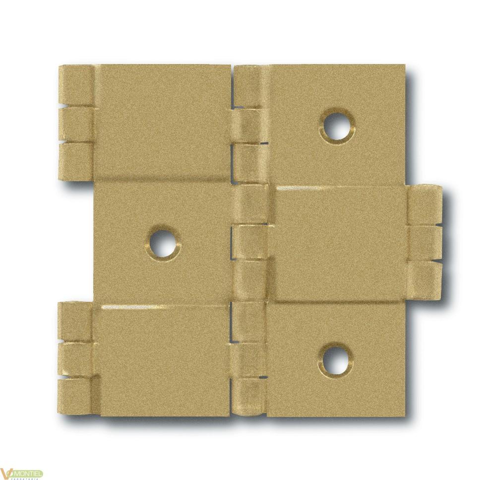 Bisagra para biombo h.l.50x20-0