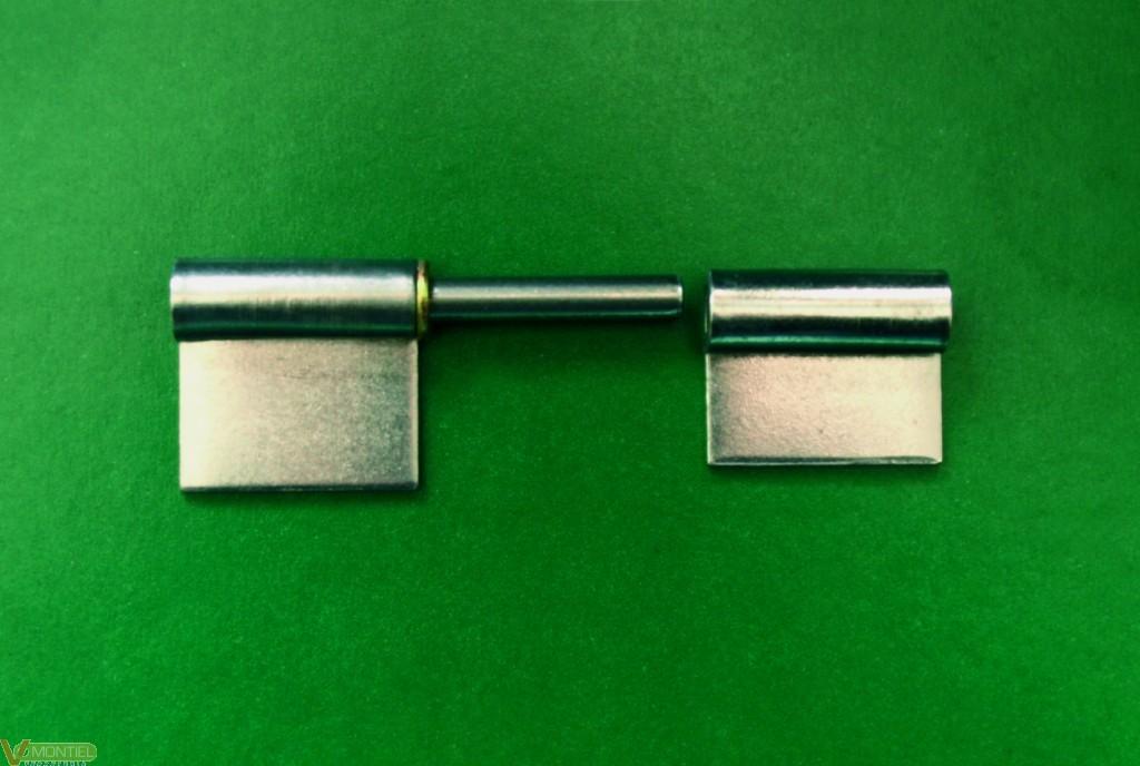 Pernio ventanal 80mm lat izd 2-0