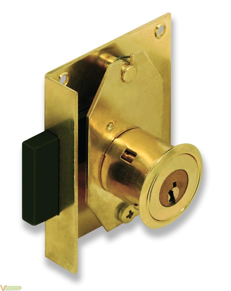 Cerradura mueb entrada 25mm 23-0
