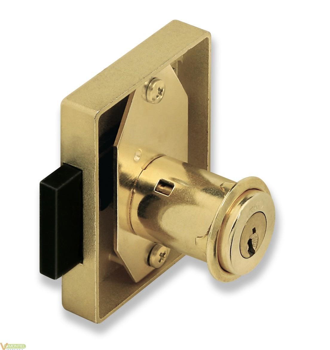 Cerradura mueb entrada 35mm 23-0