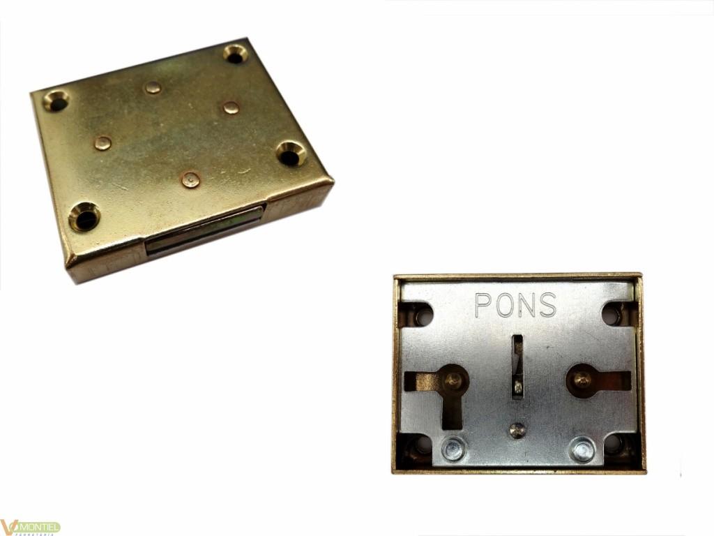Cerradura sobr. 20mm 207-20 la-0