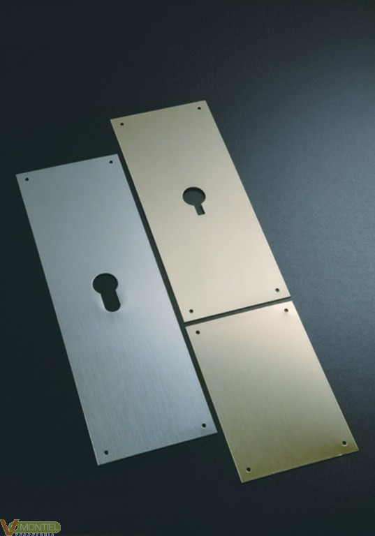 Placa cerradura 80x120mm 300/3-0