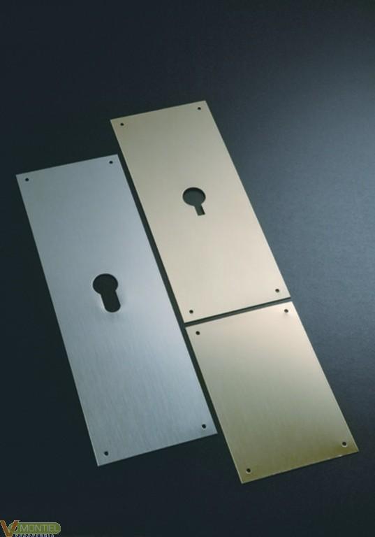 Placa cerradura 80x080mm e300/-0