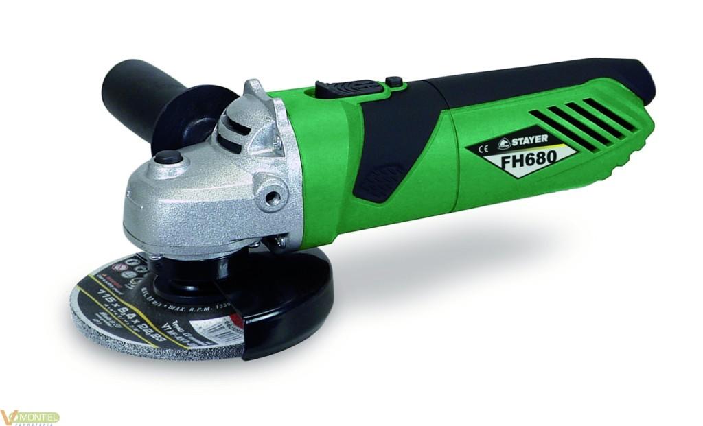 Amoladora bric 115 mm 680w fh6-0
