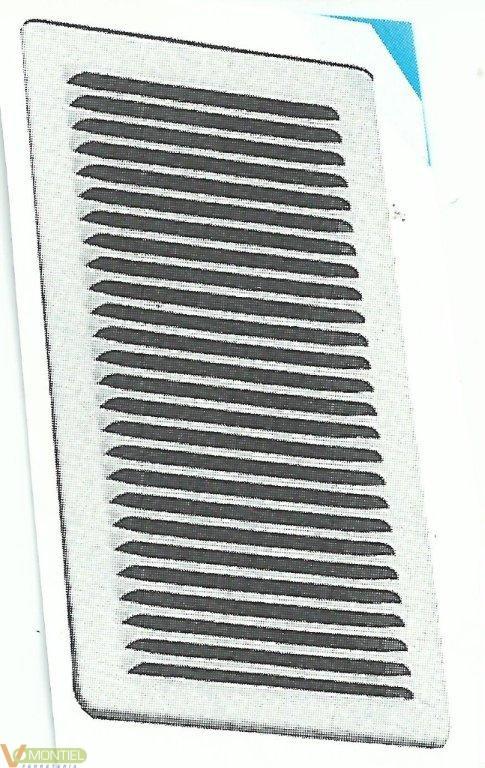 Rejilla plana c/pat 100x200mm-0
