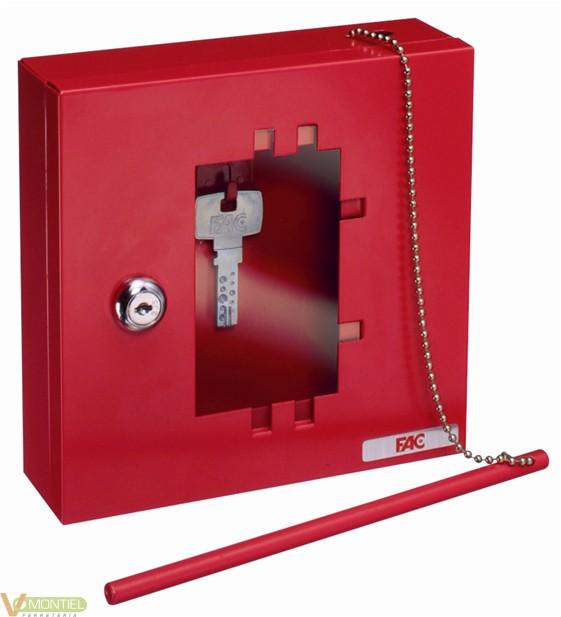 Caja llave 170x17050mm rojo-0
