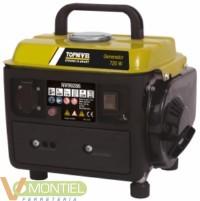 Generador gas. 0,8kva 4lt nive-0