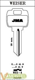 Llave acero jma wei-4-0