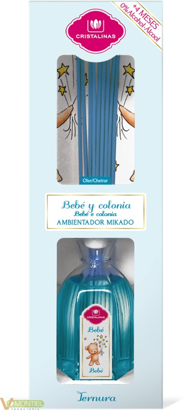 Ambientador bebe 180ml mikado-0