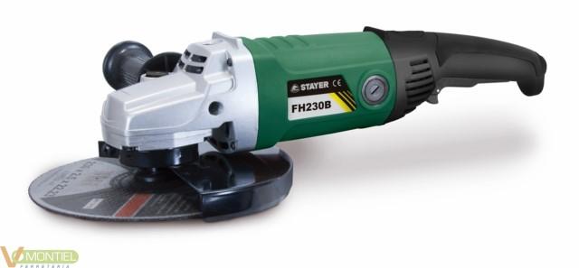 Amoladora bric 230 mm 2.100w f-0