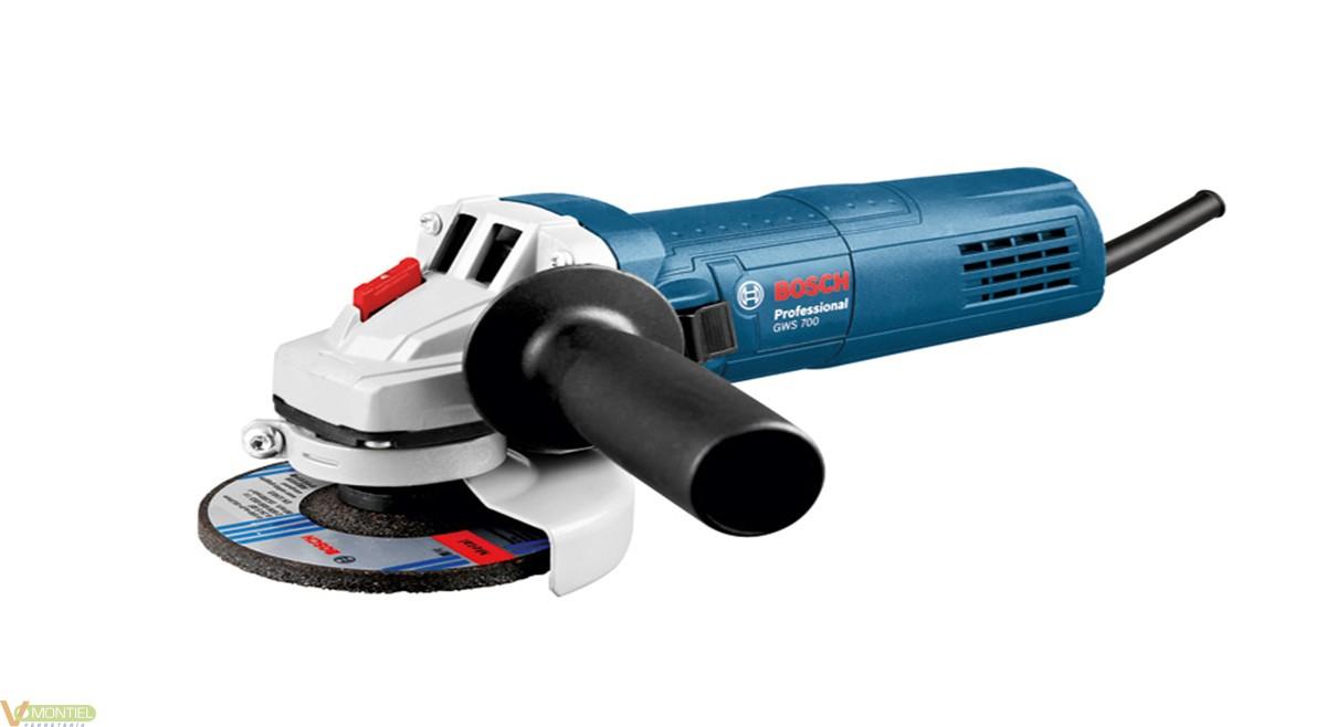 Amoladora prof 115 mm 700w gws-0