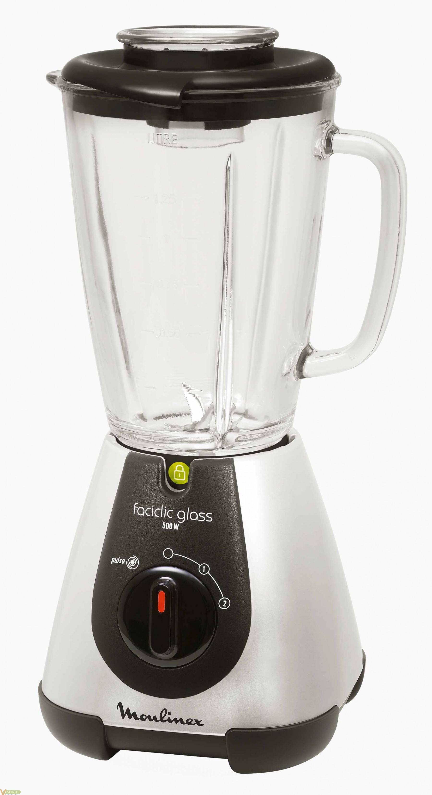 Batidora vaso 500w facilclic-0