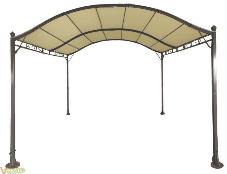Cenador 4x3 altura2,1/2,5m nat-0