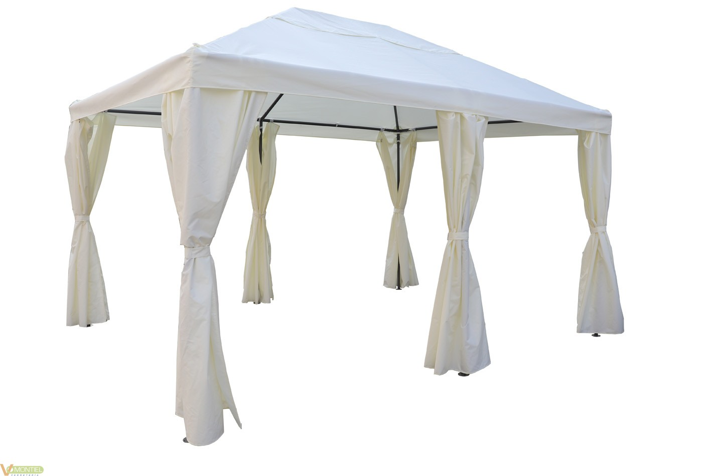 Cenador c/cortina 395x296x205/-0