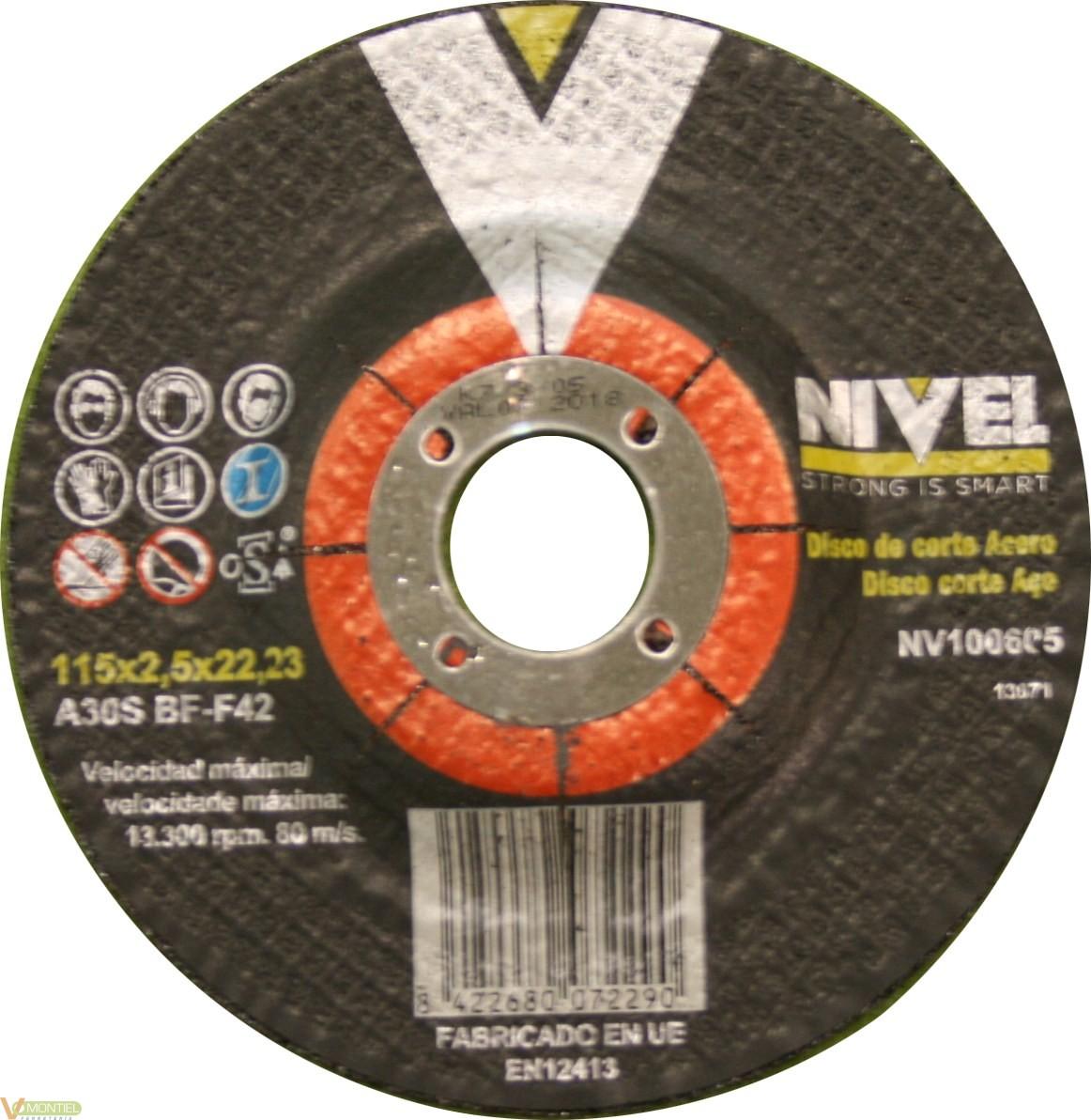 Disco corte 115x2,5x22 mm-0