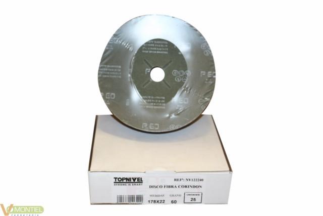 Disco lija 180x22 mm gr 60 nv1-0