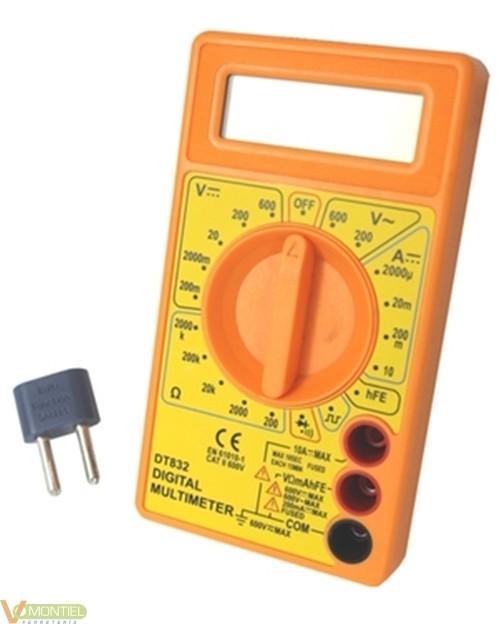 Multimetro digit. prec dt830b-0