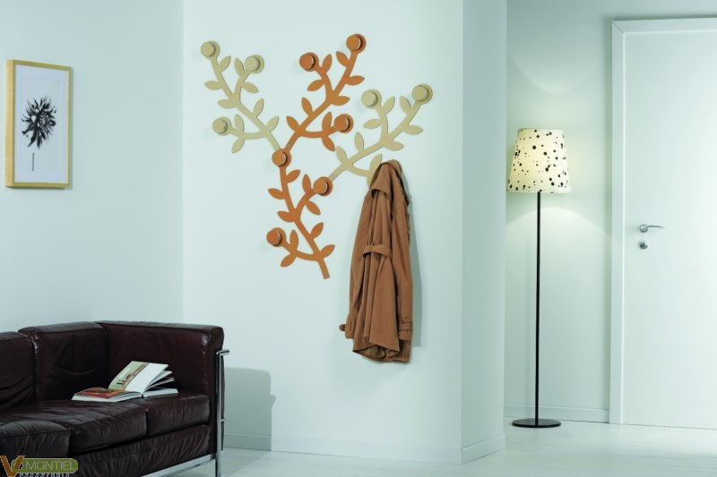 Perchero pared forma arbol 65x-1