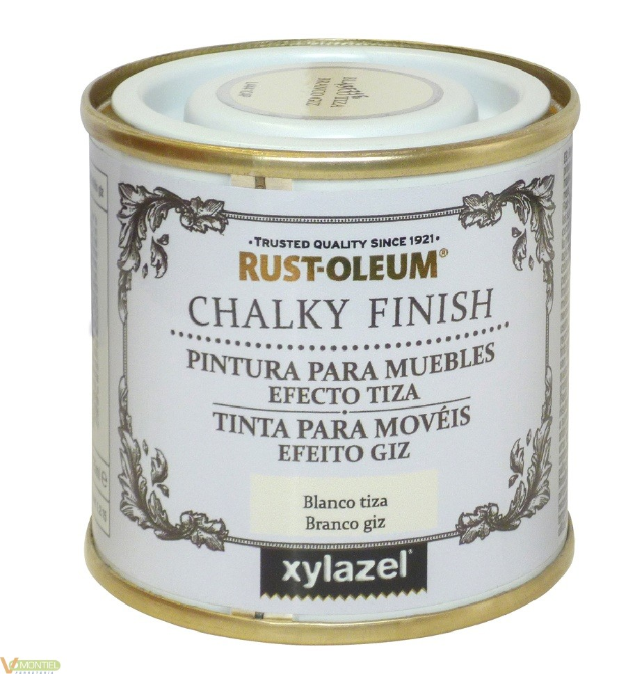 Pintura a la tiza / Chalk Paint Blanco 125 ml-0
