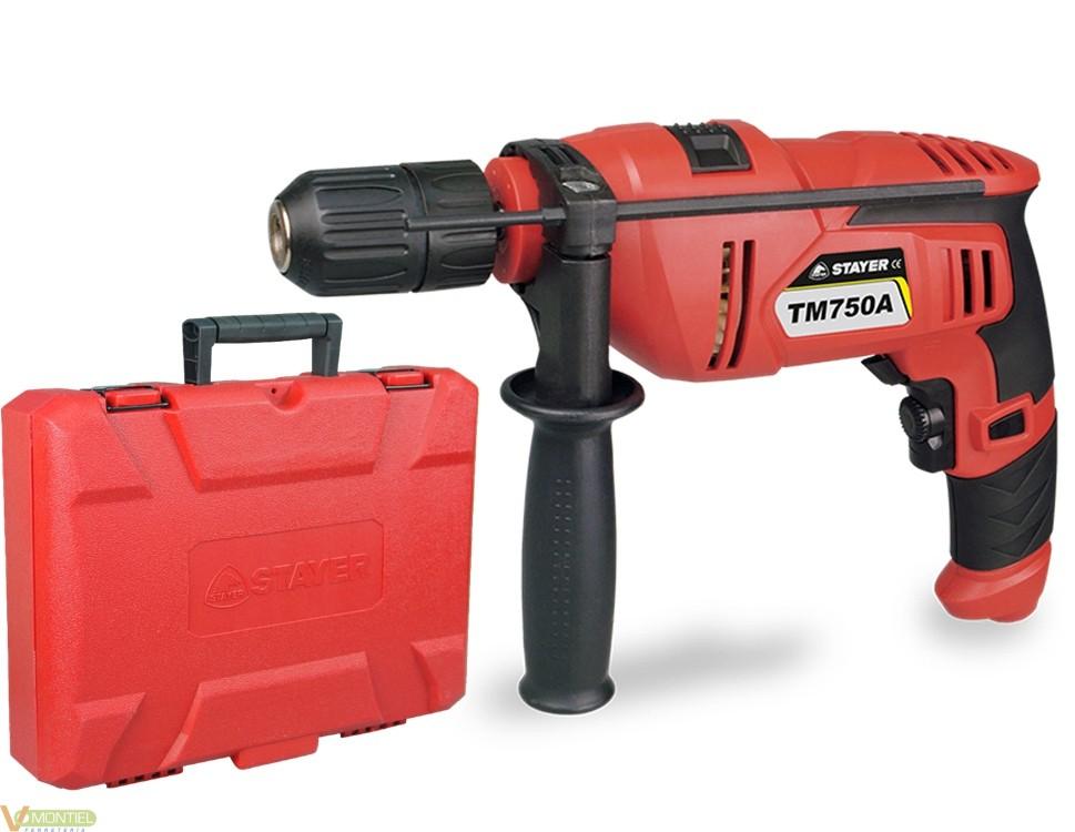 Taladro perc. 13 mm tm 750 ak-0