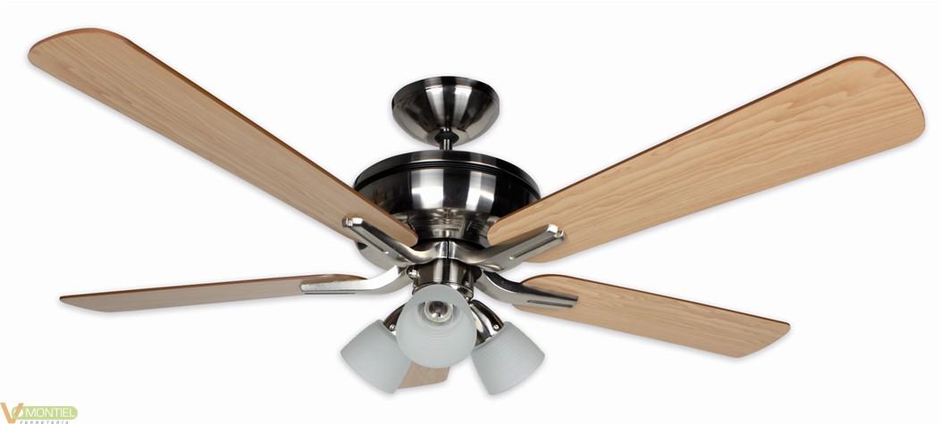 Ventilador techo 60w-3v 132cm-0