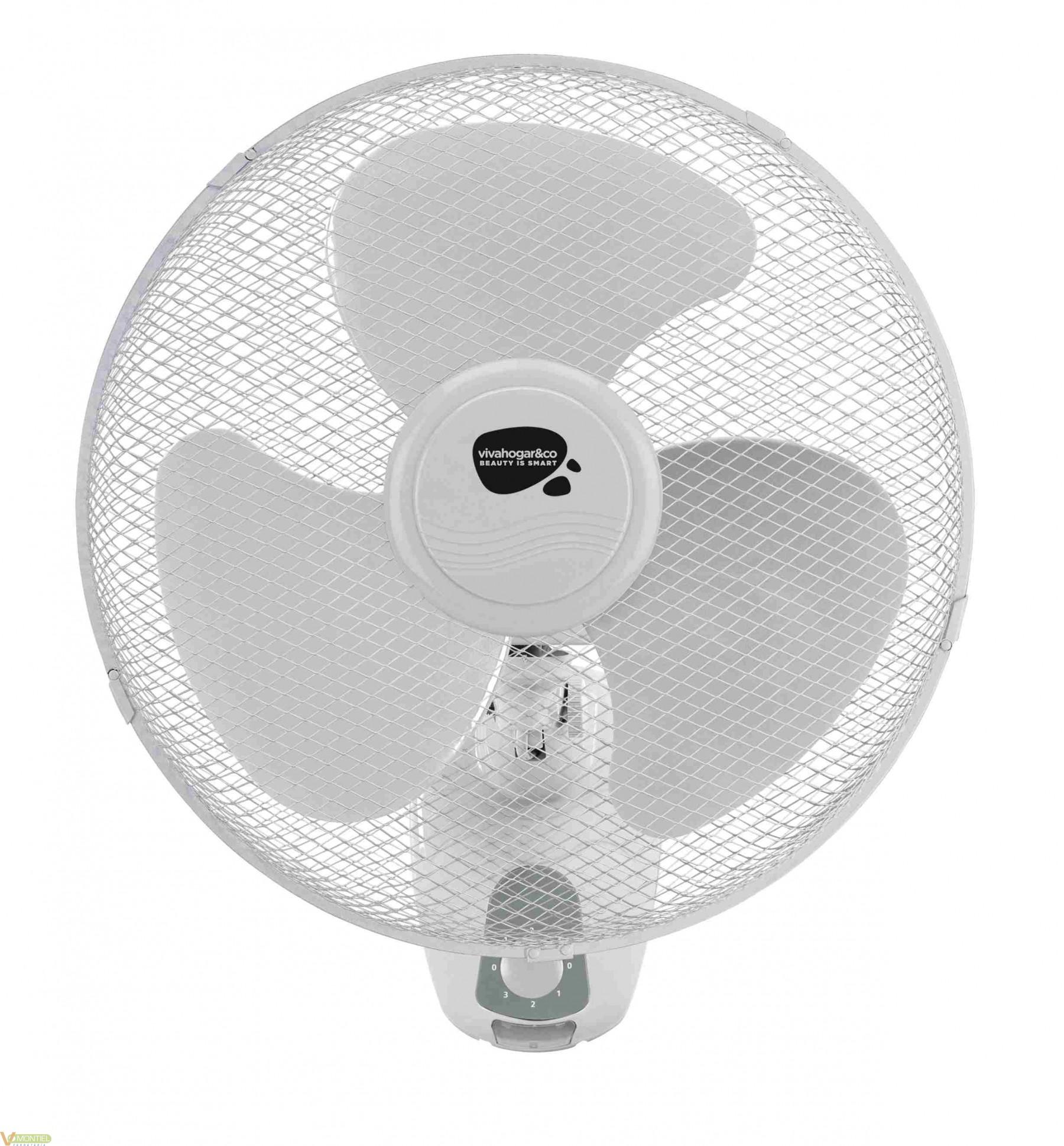 Ventilador pared 45w-3v 40cm f-0
