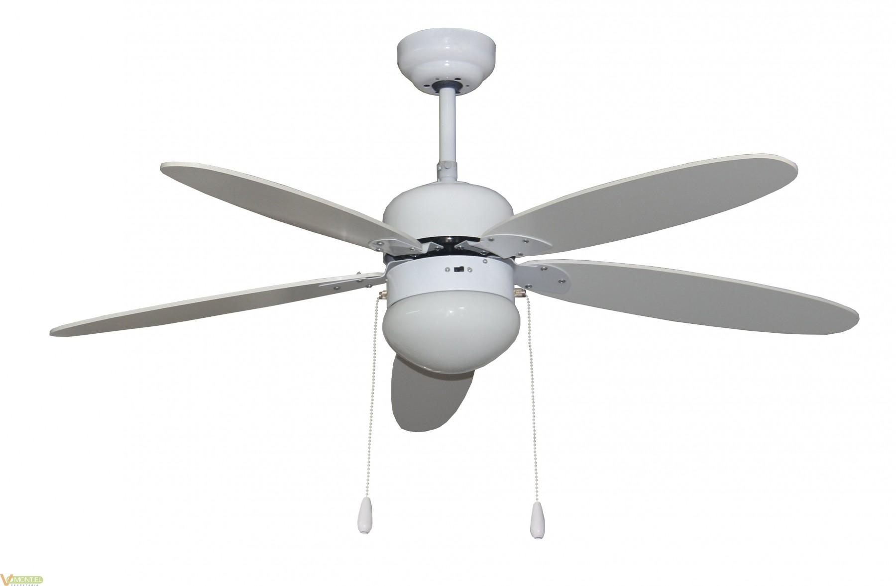 Ventilador techo 50w-3v 130cm-0