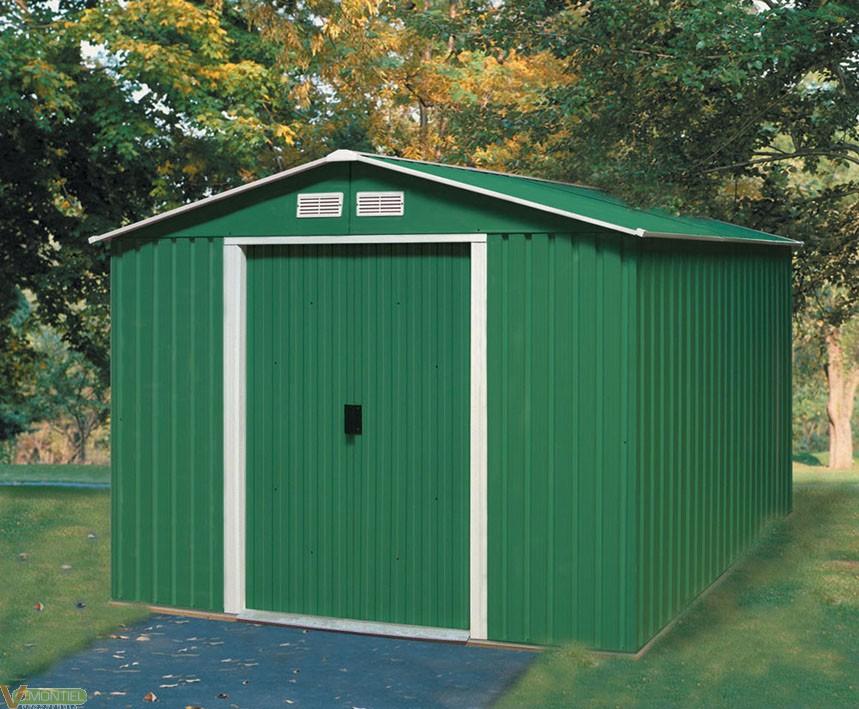 Comprar caseta jardin metalica titan ferreteria online for Casetas de madera para jardin baratas segunda mano