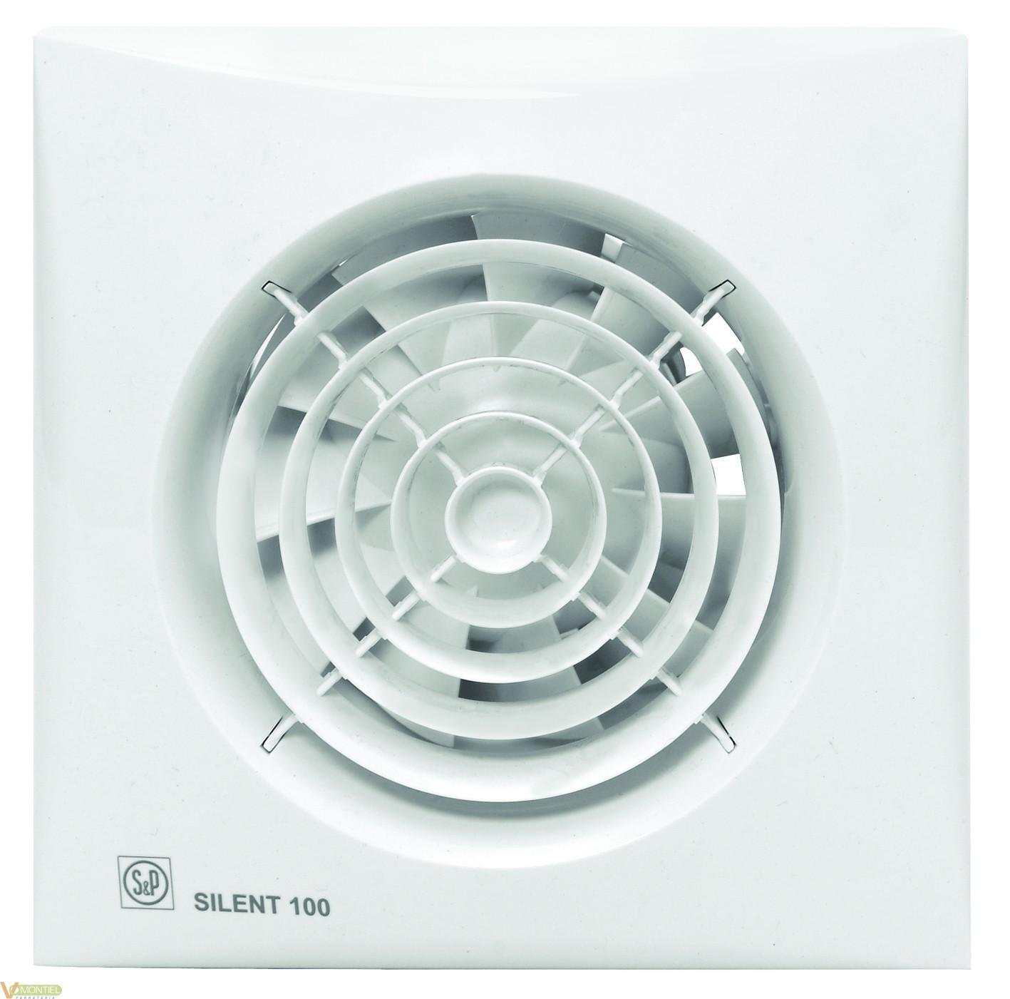 Extractor De Baño Funcion:Extractor baÑo silent 100 cz
