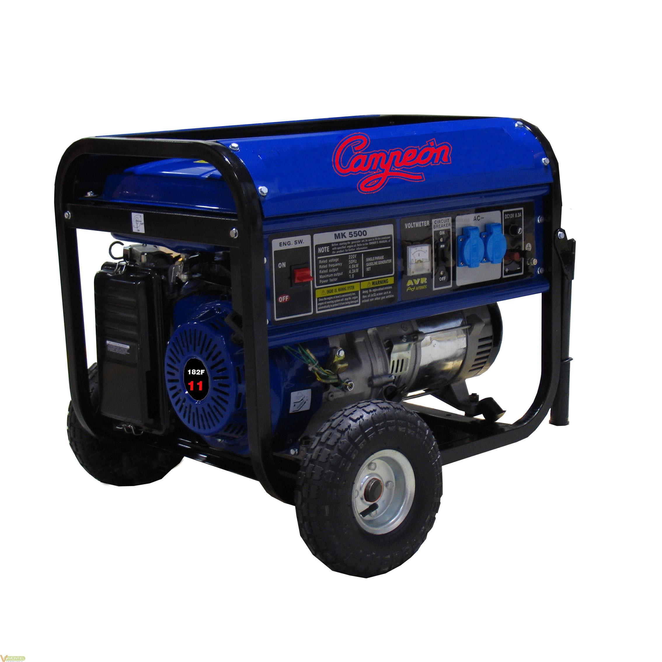 Generador 11cv monof 25lt online generador barato for Generador gasolina barato