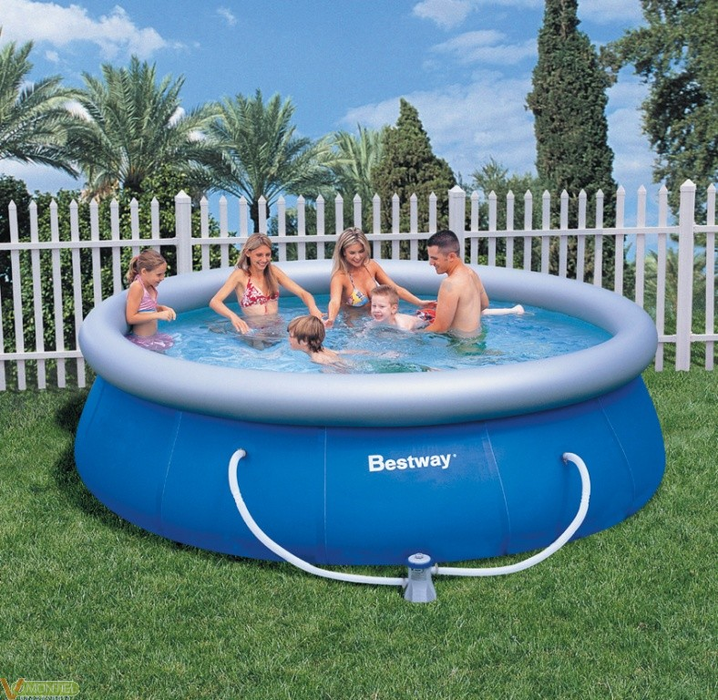 Comprar piscina portatil 366x91 depura ferreteria online for Piscina portatil