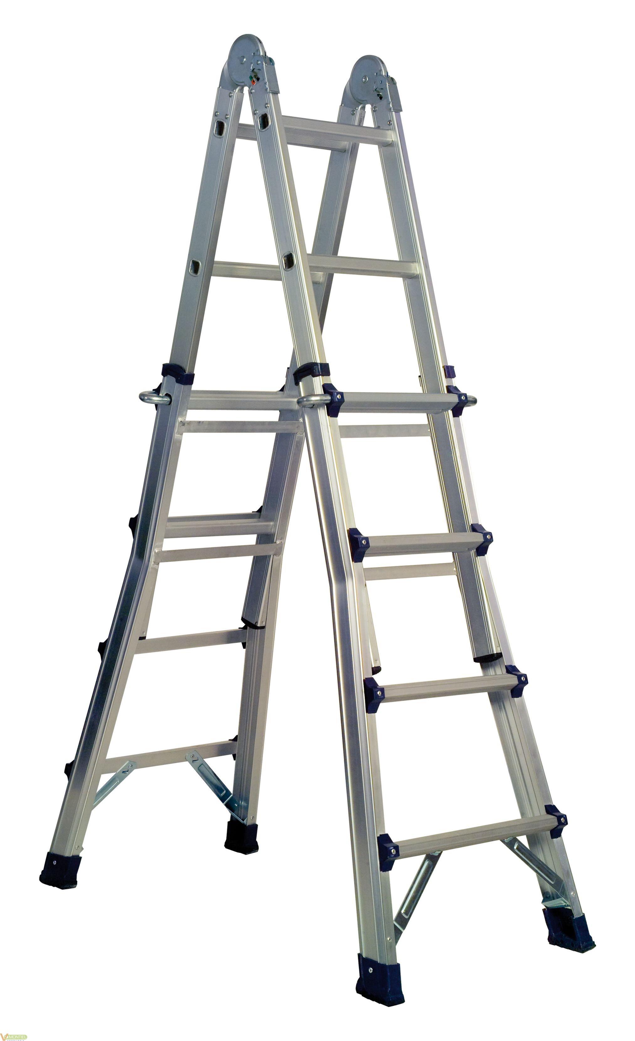 escalera multiusos aluminio 4x online escalera barata ForEscalera Multiusos