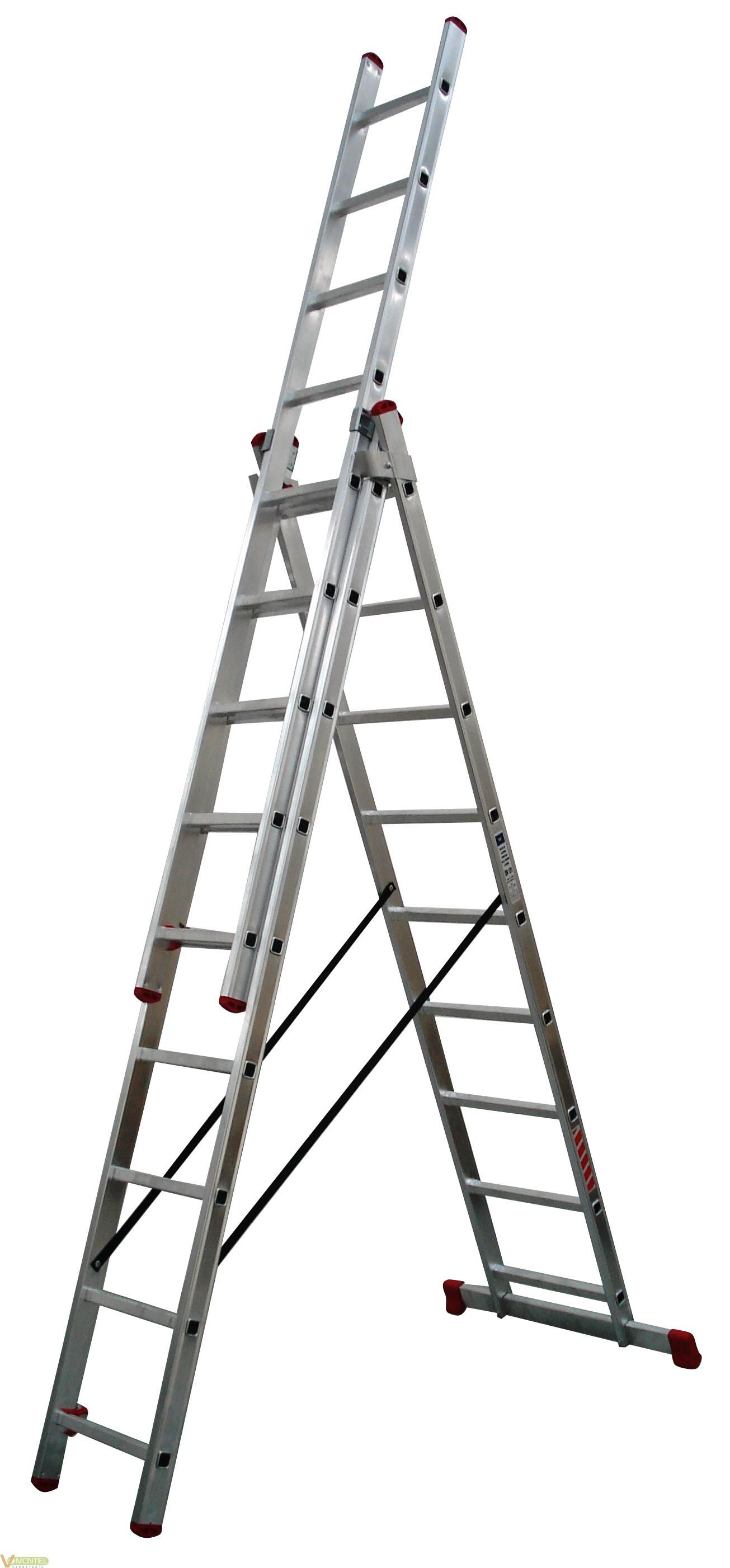 Escalera aluminio 3x10 pelda o online escalera barata for Escalera 9 escalones
