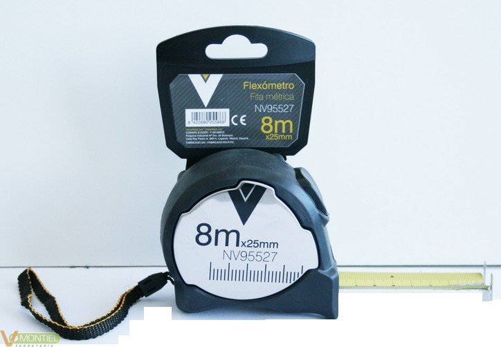 Flexometro met 5mx19mm con fre