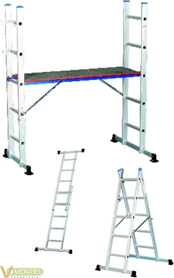 Comprar escalera andamio aluminio 2x5 ferreteria online - Escalera andamio aluminio ...