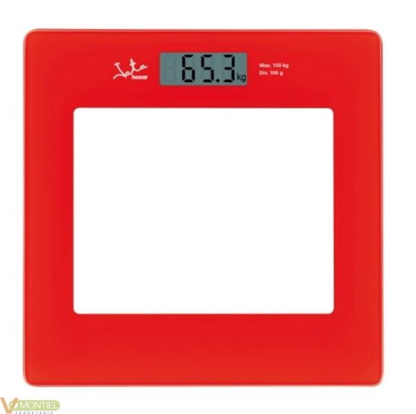 Bascula electr. 150kg roja jat