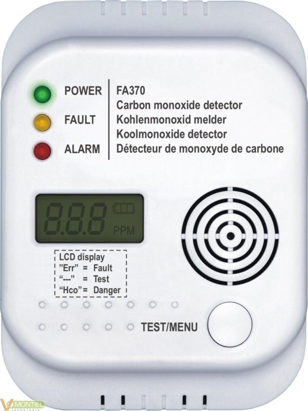 Detector monoxido carbono smar