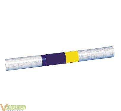 Papel adhesivo 45x20mt transpa