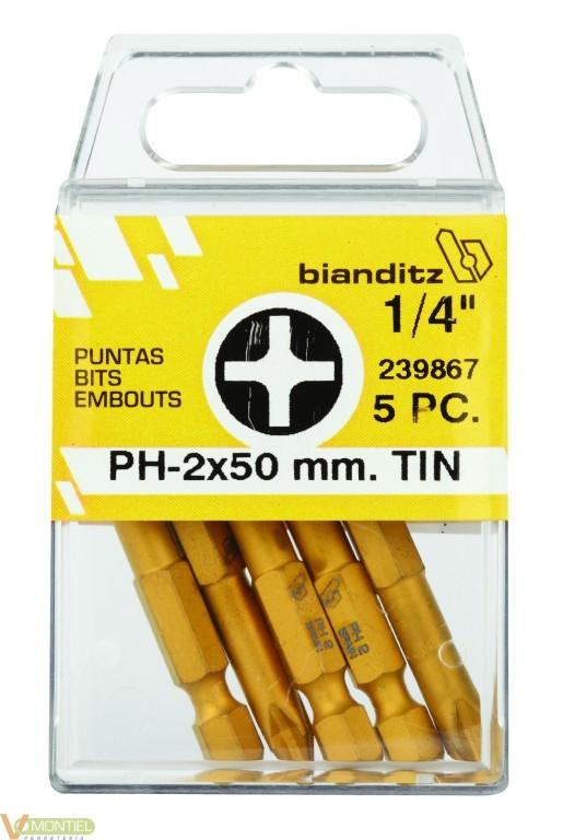 """Punta atorn ph2 1/4""""""""-50mm 239"""