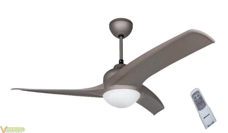 Ventilador techo 60w-3v 105cm