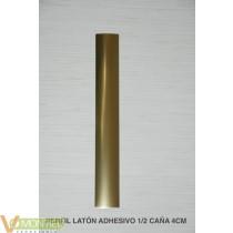 Perfil m/caÑa laton adh. 4x63