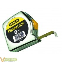 Flexometro powerlock 5m.033194