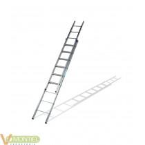 Escalera doble ex.ma.9x2 4,41m